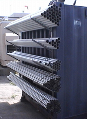 Shipping Container Shelving Pipe Racks Customize My