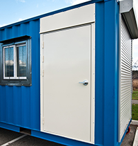 INSTA Shipping Container Rhino Door (1 unit)