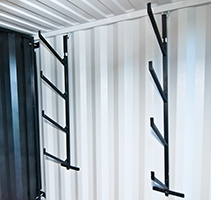 Shipping Container Pipe Rack Package (2 units)